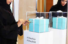 Educational Jewelry Initiatives - Tiffany & Co's 'Keys for a Cause' Initiative Empowers Saudi Women