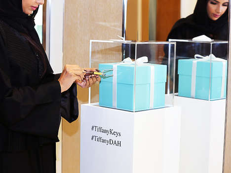 Educational Jewelry Initiatives - Tiffany & Co's 'Keys for a Cause' Initiative Empowers Saudi Women