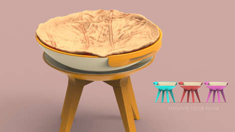 Futuristic Bassinet Concepts - Bilal Khan Re-Imagines the Future of Design in Bassinets