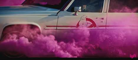 Ghoulish Ride Shares - Lyft Promoted Ghostbusters by Offering Rides in the Iconic Ecto-1 Car