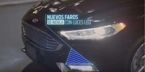 Feature-Focused Auto Ads - Ford Mexico's 'Características' Commercial Highlights Car Capabilities