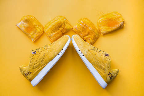 Beef Patty Sneakers - This Jamaican Patty Design Was Created to Celebrate Caribbean Culture