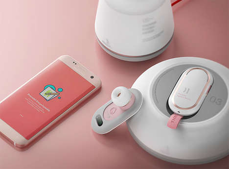 Prenatal Monitoring Devices - The 'Thread' System Gives Parents Pregnancy Updates
