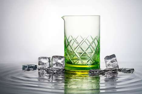 Glowing Barware Accessories - Jakobsen Design's Glow-In-The-Dark Barware Accessory Embodies Elegance