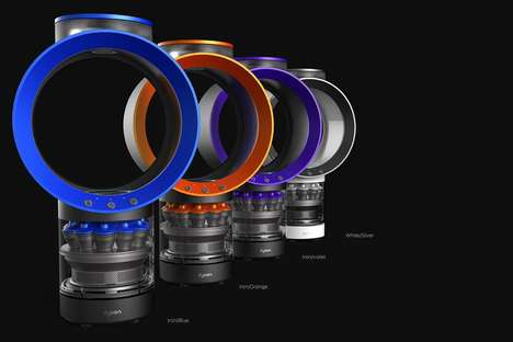 Circular Coffee Machines - This Coffee Machine Concept Was Inspired by Dyson