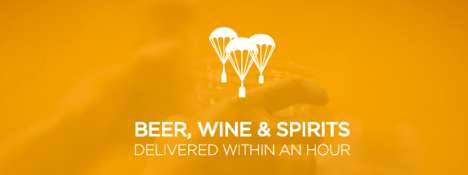 Alcohol Delivery Services - The Klink App Lets User's Order Alcohol That is Delivered to Their Door