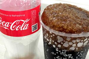 The 'Super Chill!! Coca-Cola' Vending Machine Offers the Beverage in Ice Form
