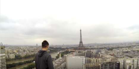 Drone-Filmed Free Climbs - These Daredevils Free Climbed the Eiffel Tower and Captured It with a UAV