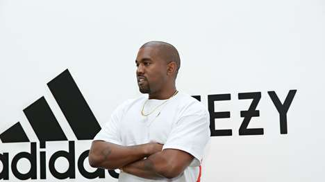 Non-Athlete Sneaker Partnerships - Kanye West and Adidas Partnered to Create a New Collection