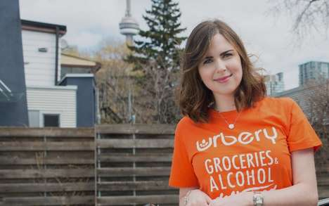 Hybrid Alcohol Deliveries - This Toronto Delivery Service Brings Groceries and Alcohol to Your Door