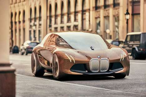 Autonomous Luxury Vehicles - A BMW Self-Driving Car Concept is Set to Launch by 2021