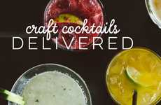 Subscription Cocktail Deliveries - This Company Delivers Craft Cocktail Recipes and Ingredients