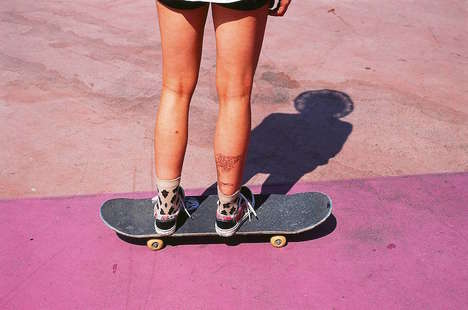 Female Skateboarder Photography - Hannah Bailey Pays Tribute to Women Boarders In 'The Free Life'