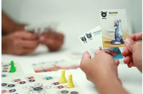 Eco-Friendly Card Games - 'Go Eco' Teaches Players About Conserving the Environment
