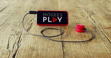 Interactive Tapping Games - This Game Lets Amateur Drummers Channel Their Tapping into Mogees Play