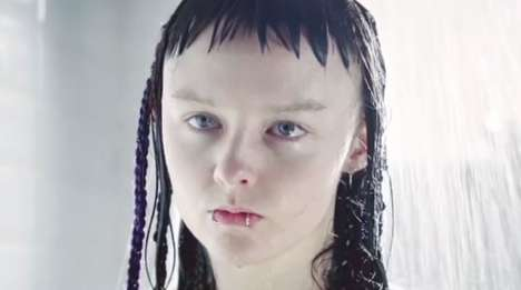 Goth Shower Gel Ads - Radox Shows Its Products Have the Ability to Alter the Moods of Teenage Goths