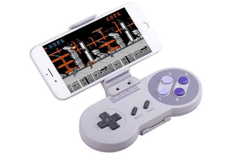 Smartphone Gaming Controllers - The Nintendo Controller is Being Remodeled to Incorporate iPhones