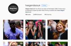 Fan Photography Projects - Häagen-Dazs' Instagram Page Features a Project Called 'Lose Yourself'