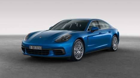 Sportily Opulent Sedans - These New Porsche Sports Cars Offer Luxury Comfort & Powerful Performance