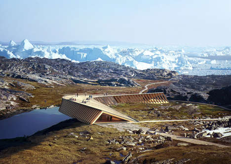 Poignant Glacier Viewing Centers - Visitors can See Climate Change in Action at the Icefjord Center