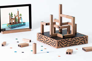 These Magnetic Building Blocks Immerse Children in Their Own Digital Creations