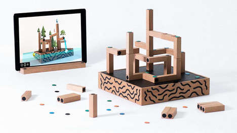 Digital Toy Blocks - These Magnetic Building Blocks Immerse Children in Their Own Digital Creations
