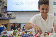 Child-Centric Chemistry Apps - The Happy Atom App Helps Foster a Passion For Chemistry