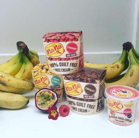 Fruit-Based Frozen Desserts - 'Nana Nice Cream' is Made with Avocados and Bananas