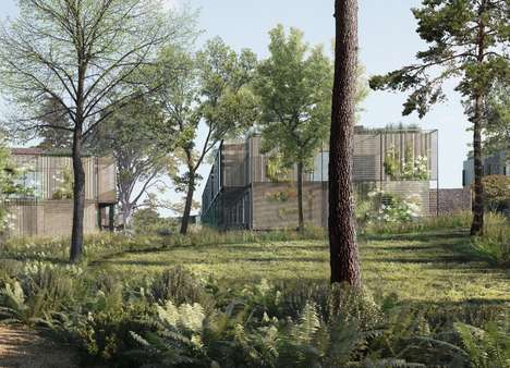 Natural Affordable Housing Concepts - This Design Hopes to Change the Way Social Housing is Viewed