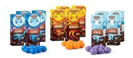 Functional Chocolate Treats - 'Good Day Chocolate' Links Chocolate and Health