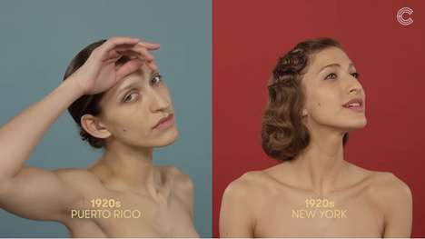 Evolving Beauty Comparisons - WatchCut Video Shows How the Styles of Puerto Rican Women Has Changed