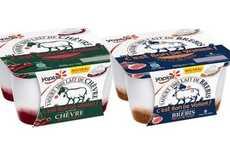 Alternative Milk Yogurts - Yoplait France Now Offers Several Types of Goat and Sheep Milk Yogurt