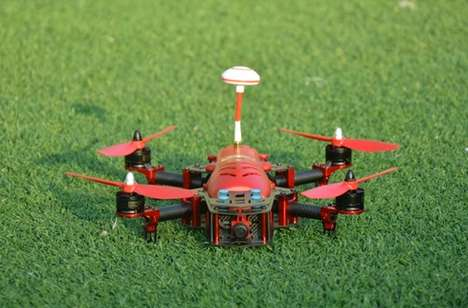Turbocharged Racing Drones - The Falcon FPV300 Helps You Stay Ahead Of the Competition