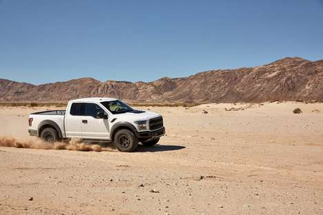 Desert-Demolishing SUVs - This Ford SUV Can Be Customized to Rip Through the Desert
