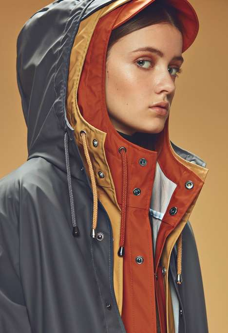 Stylish Layer-Friendly Rainwear - These Long Raincoats Were Made Oversized to Keep You Warm