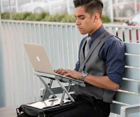 Transformative Ergonomic Laptop Stands - The A/Stand Offers a Custom Workstation Safe for Daily Use