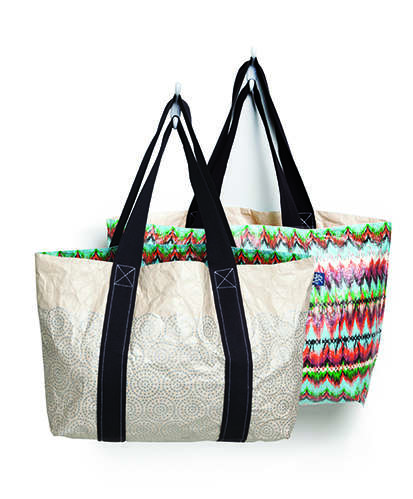 Reversible Tote Bags - Tyvek Totes are Recyclable, Lightweight and Designed with Style in Mind