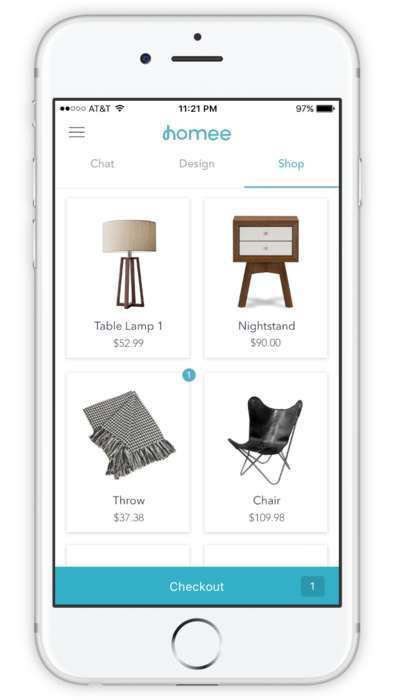 Personalized Interior Design Apps - The 'Homee' App Connects Users and Designers to Furnish Homes