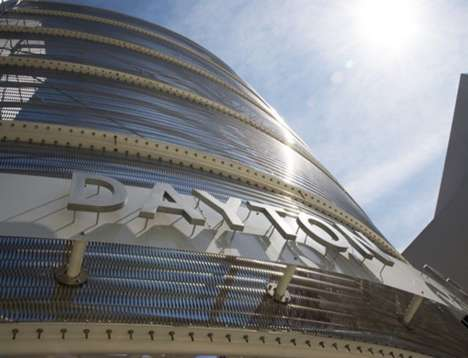 Flexible Metal Fabrics - GKD Metal Fabrics Brings an Oxymoron to Architecture