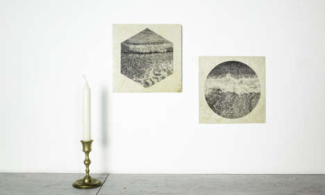 Stone-Printed Photography - The 'Shots on Stone' are Prints Developed on Stone Tiles in a Darkroom