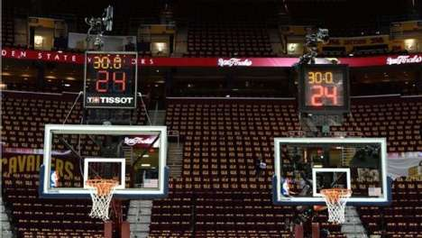 Professional Sports Partnerships - The NBA and Tissot Partnerd to Create a New Shot Clock