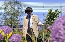 Charitable Virtual Gardens - Cancer Research UK Celebrates Its Supporters with a VR Flower Garden