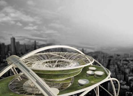 Futuristic Spherical Skyscrapers - Project ZERO Maximizes Living Space with a Sphere-Like Shape