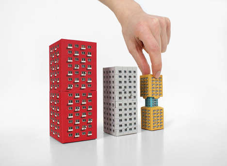 Architectural Nesting Blocks - These Nesting Toys are Based on the Russian Matryoshka