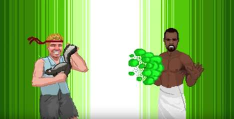 Outrageous 8-Bit Games - Old Spice's 'Youland' is a Quirky Facebook Video Game