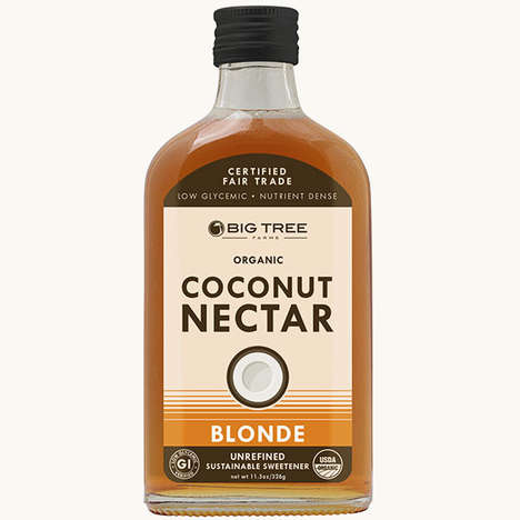 Coconut-Based Sweeteners - Big Tree Farms' Coconut Nectar Serves as an Alternative to Honey