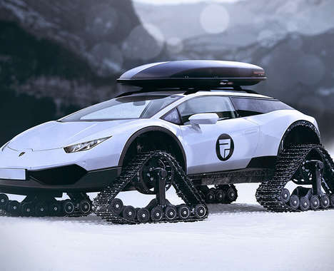 Hyrbrid Sports Car Snowmobiles