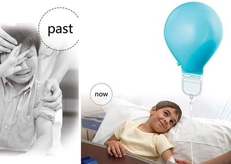 Child-Friendly Balloon IVs - The Infusion Balloon Provides an Inviting Design to Intravenous Therapy