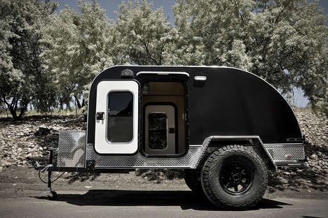 Rugged Teardrop Trailers - Colorado Teardrops Makes High-End Trailers for Outdoor Enthusiasts