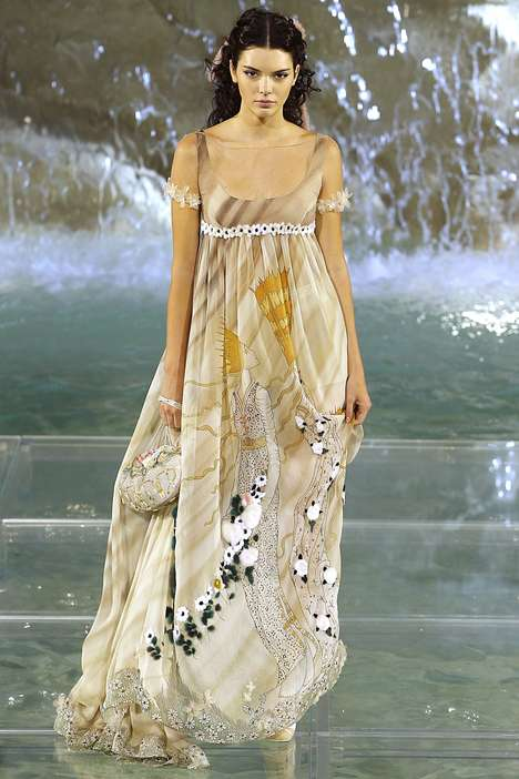 Magical Couture Collections - Fendi's Anniversary Show Revealed Fairy Tale Looks